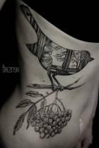 L'art à fleur de peau