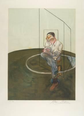 Francis Bacon, portrait John Edwards