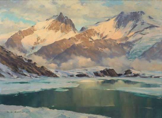 Charles-Henri Contencin, le plus grand paysagiste de montagnes