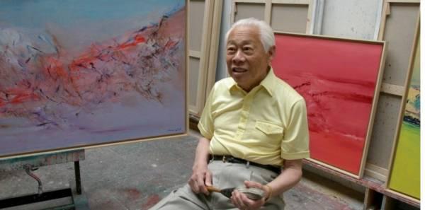 Zao Wou Ki et Chu Teh Chun