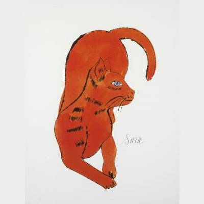 Andy Warhol - Cat named Sam - Offset lithographie