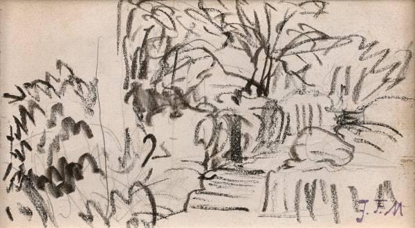 Jean François Millet, dessins