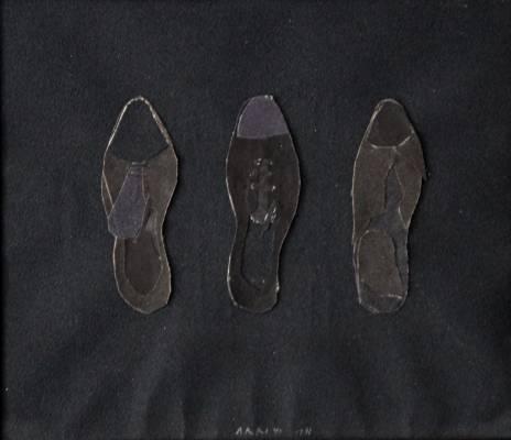 Eduardo Arroyo les trois souliers de Kreuzberg