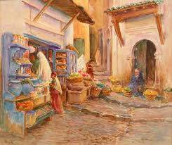 Alphonse Birck, peintre orientaliste