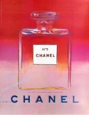 Andy Warhol, Chanel N°5, affiche,