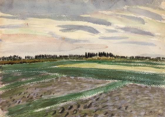 Auguste Chabaud, estimation et cote