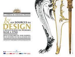 18e, aux sources du design à Versailles