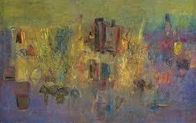 Abdallah Benanteur, un des fondateurs de la peinture algérienne moderne.