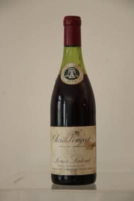 3 bouteilles Pommard Anjoux, Clos Vougeot, Santenay