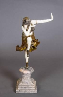 Quelle valeur pour une sculpture de Colinet ?