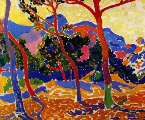 André Derain, co-fondateur du fauvisme avec Matisse