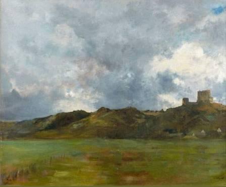 Eugène Fromentin, Château de Lavardin, tableau