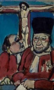 Georges Rouault, justiciers, gouache
