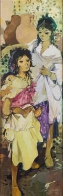 Jean Gaston Mantel, femme et enfants