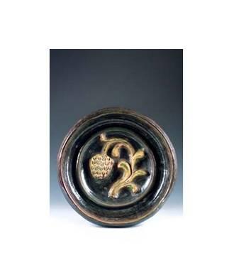 Georges Jouve, plat en céramique, design et arts décoratifs