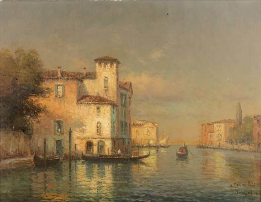 Georges Noel Bouvard, Venise, tableau