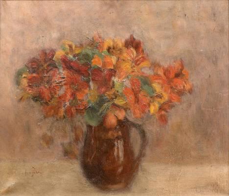 Henri Hayden, bouquet, tableau