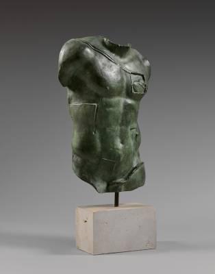 Igor Mitoraj, Persée, sculpture, vente aux enchères