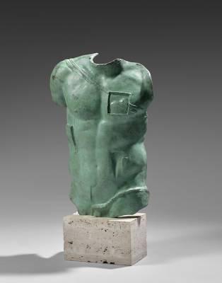 Igor Mitoraj, Persée, sculpture