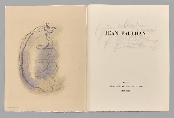 Jean Fautrier, L'enragé, 1949