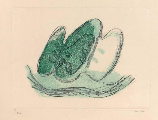 Jean Fautrier, Les Fruits, estampe