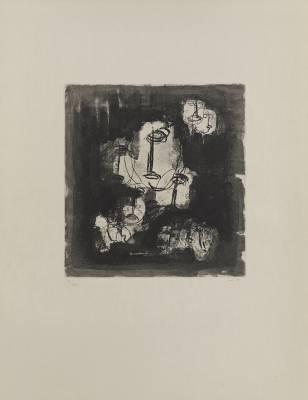 Jean Fautrier, 6 gravures aux enchères