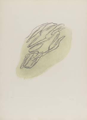 Jean Fautrier, formes végétales