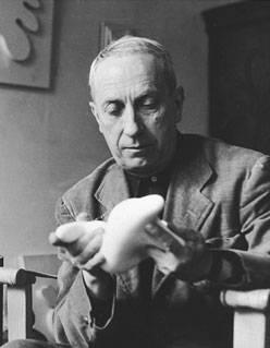 Hans Arp, cofondateur du mouvement Dada