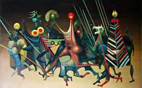 Jules Perahim, peintre surréaliste roumain à Strasbourg