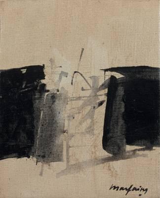 André Marfaing, composition, tableau