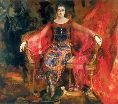 Filip Malyavin, peintre russe.