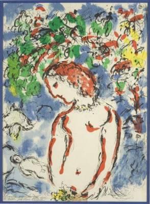 Marc Chagall, Printemps, lithographie