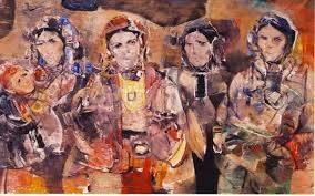 M'hamed Issiakhem, un des fondateurs de la peinture moderne