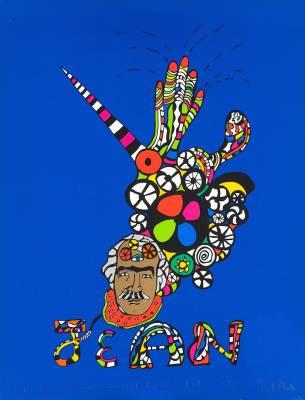 Niki de Saint Phalle, lithographie