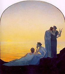 Alphonse Osbert, peintre symboliste, quelle cote ?