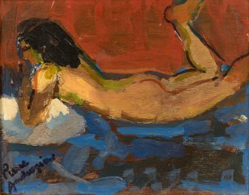 Pierre Ambrogiani, nu, tableau