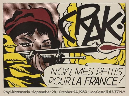 Roy Lichtenstein, Crak !