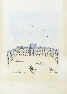 Salvador Dali, vue citadine