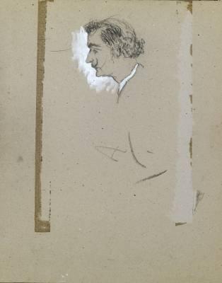 Salvador Dali, trois dessins d'un carnet de croquis