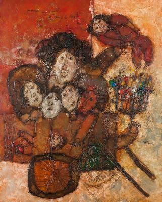 Theo Tobiasse, 40 ans d'exil, tableau