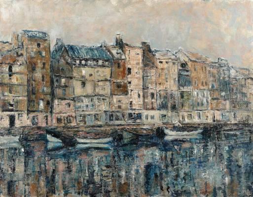 Willliam Coldstream, port, tableau