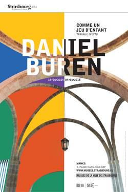 Daniel Buren à Strasbourg