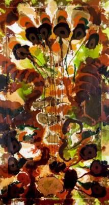 Josignacio, artiste cubain, entre epoxy et huile