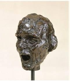 Camille Claudel, vieil aveugle chantant, bronze