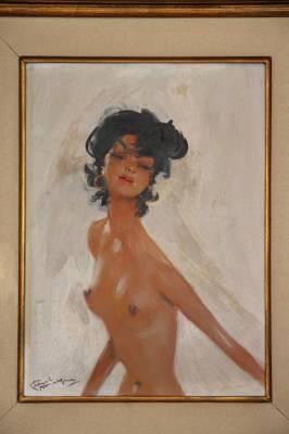 Domergue Jean-Gabriel- Jeune femme dénudée