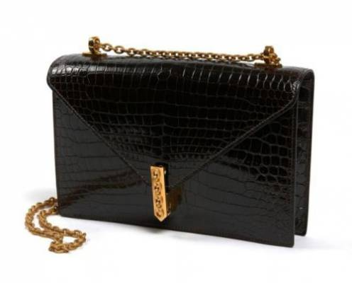 Hermès, sac new Jimmy's crocodile