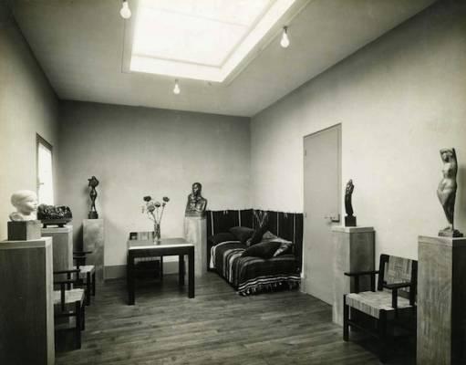 1926, LA MAISON-ATELIER DE CHANA ORLOFF PAR AUGUSTE PERRET