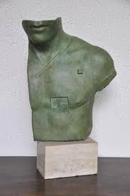 Igor Mitoraj, aesclépios, bronze