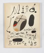 Juan Miro, Oiseau solaire, oiseau lunaire, étincelles