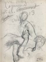 Jean François Millet, dessin, vente aux enchères